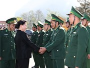 Border guards in Dien Bien commended for anti-crime, diplomatic efforts