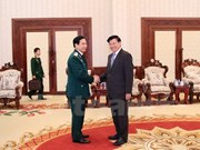 Vietnamese army enhances cooperation with Lao counterpart