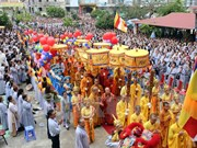 India Buddhism Cultural Days opens in Vinh Phuc