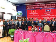 Quang Nam works with Lao province to protect forest