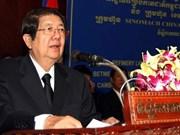 Condolences over death of Cambodian Deputy PM