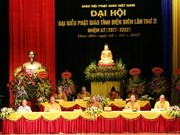 Buddhist Sangha's Dien Bien chapter convenes congress