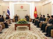 Vietnam, Thailand boost defence cooperation