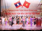 Greetings to Lao party on 62nd anniversary