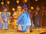 Thua Thien-Hue: ceremony prays for good weather, bumper crops