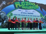 Safari park opened in Binh Dinh province