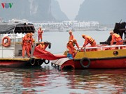 Oil spill response training held in Quang Ninh