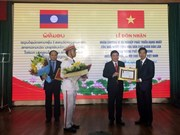 HCM City honoured with Laos' noblest order