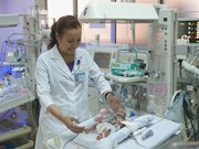 900g-baby with congenital heart disease survived