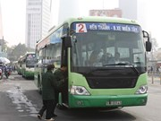 HCM City strives to reach target of 800 green buses