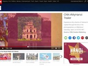 "CNN broadcasts ""My Hanoi"" programme"