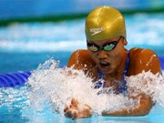 Vietnam's female swimmer wins two golds at Speedo Sectionals