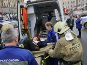 Condolences to Russia over subway blast