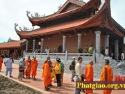 Can Tho's Buddhists work to develop Vietnam Buddhist Sangha
