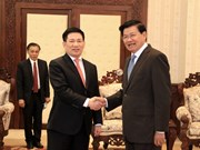 Lao leaders appreciate support from Vietnam's state audit office