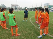 U15 football team convenes for AFF football event