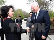 Vietnam's top legislator hails ties with Hungary