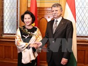 Vietnam, Hungary's top legislators hold talks