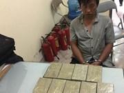 Bac Ninh: Heroin transporter arrested