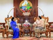 Ho Chi Minh City delegation congratulates Lao New Year festival