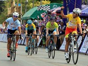 Cyclist places second in Tour of Thailand