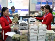Reference exchange rate goes down 1 VND
