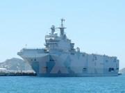 French naval ships visit Ho Chi Minh City