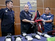 Malaysia works hard on drug combat