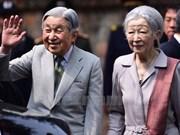 Japanese Emperor, Empress host tea party following Vietnam visit
