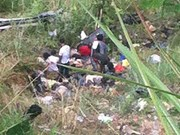 At least 24 killed in bus accident in Philippines