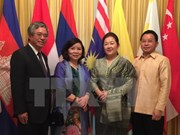 Vietnamese diplomat to US greets Laos on traditional New Year