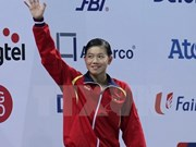 Vietnamese swimmer wins gold with new Asian record