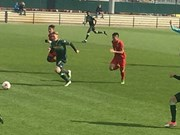 Vietnam's U20 football team warms up for World Cup