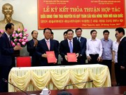 Thai Nguyen, RoK organisation sign cooperation deal
