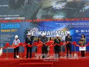 Contech Vietnam 2017 opens, attracts foreign manufacturers