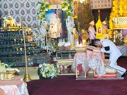 Thailand sets date for cremation of late King