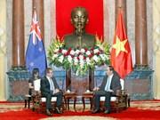 President hopes NZ to join economic development in Vietnam