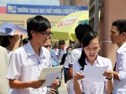 Students choose high school exams for university admissions