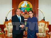 Lao leaders hail visit of Prime Minister Nguyen Xuan Phuc