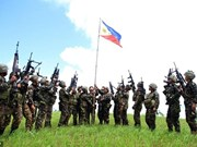 Philippine military kills almost 40 militants loyal to IS