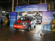 Toyota Vietnam produces 400,000th car