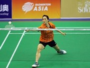 Top badminton player exits Asian championship