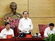 Nghe An should develop hi-tech agriculture: President