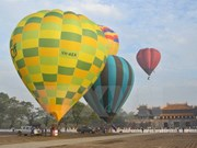 Int'l air balloons festival kicks off in Hue