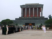 Over 66,200 people pay tribute to late President Ho Chi Minh