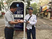 Smart parking service piloted in Hanoi