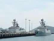 China's naval fleet visits Ho Chi Minh City