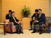 Deputy PM meets Japanese leaders
