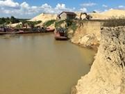 Vietnam faces severe sand shortage