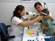 Can Tho: Flying eye hospital provides treatment for children